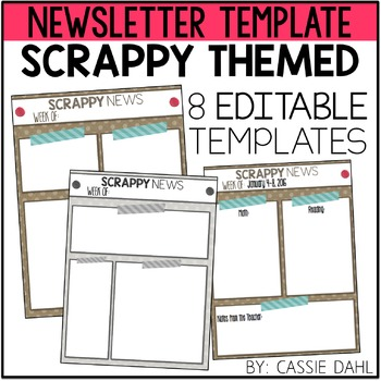 Scrappy Classroom Newsletter