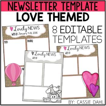 Love Classroom Newsletter