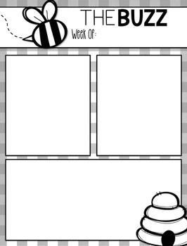 Bee Classroom Newsletter