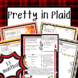 Newsletter Template Back to School About Me Summer Stationery