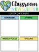 Editable Newsletters