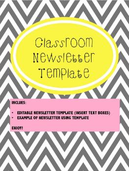 Newsletter Template - Editable