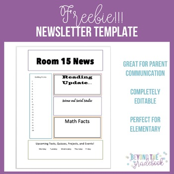 Newsletter Template Freebie