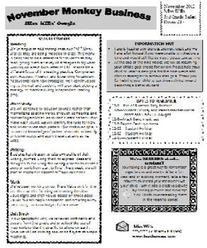 Newsletter Template-Jungle Theme