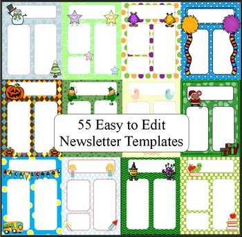 Newsletter Template Mega Bundle
