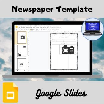 Newsletter Template (Paper & Google Slides Versions)