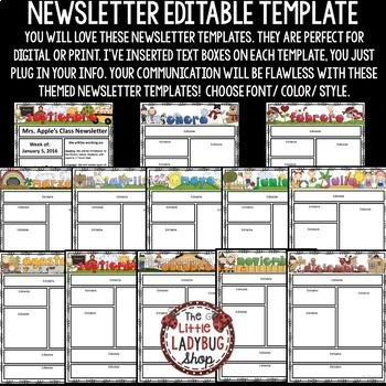 on newsletter templates free spanish cl