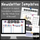 Newsletter Template Summer Newsletter Last Day of School J