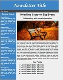 Newsletter Template for Google Docs