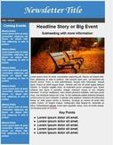 Newsletter Template for Google Docs