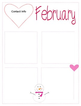 Newsletter Templates {12 Months}
