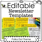 Newsletter Template Editable