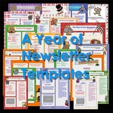 Newsletter Templates - Bundle of 52 Ready to Use Templates