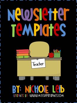 Newsletter Templates By Nichole Leib