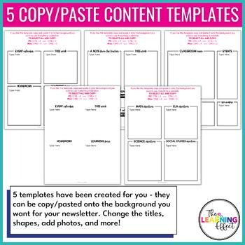 Newsletter Templates | Editable