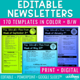 Newsletter Templates | Editable