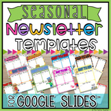 Editable Newsletter Templates in Google Slides™ BUNDLE