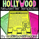Newsletter Templates - Editable Hollywood Theme