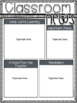 Newsletter Templates~ Monthly Themes EDITABLE!
