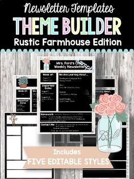 Newsletter Templates: Rustic Farmhouse Edition