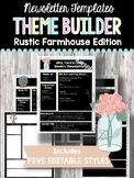 Newsletter Templates: Rustic Farmhouse Edition