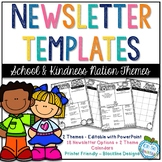 Newsletter Templates - School Basics & Kindness Kids Themes