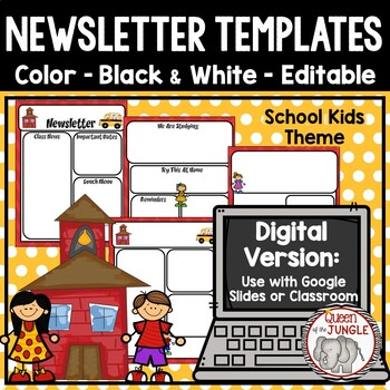 Newsletter Templates Editable