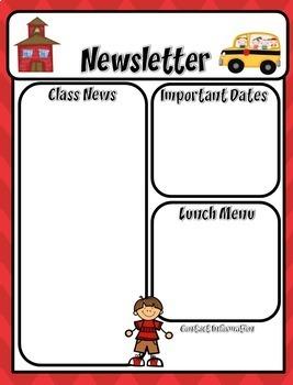 Newsletter Templates Editable