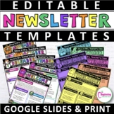 Newsletter Templates Weekly   Monthly   Editable   Google Slides