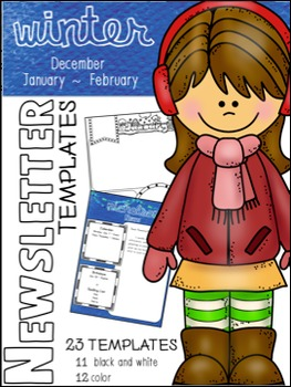 Newsletter Templates: Winter