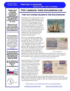 Newsletter - War of 1812 and the Transcontinental Railroad