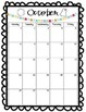 Newsletter and Calendar Editable Template