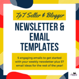 Newsletter & email templates to grow your email list