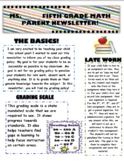 Newsletter template!