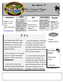 Newsletter template with Tiki theme
