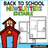 Newsletter Template Editable Weekly | Back to School
