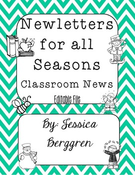 Newsletters For All Seasons {Editable}