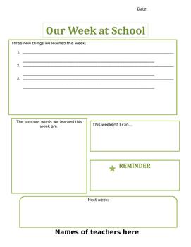 Newsletters simple weekly or biweekly