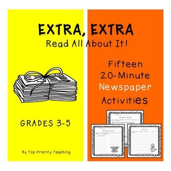 Newspaper Activities - 15 Weeks