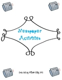 Newspaper Activities