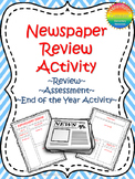Newspaper Activity (End of the Year, Review or Assessment Project)