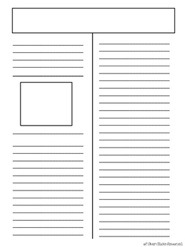 newspaper article template newspaper article templates free by rockin resources tpt