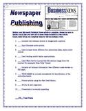 Newspaper Article Microsoft Publisher Grading Checklist