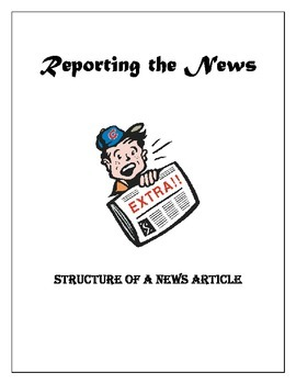 Newspaper Article Structure