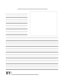 Newspaper Article Writing Template