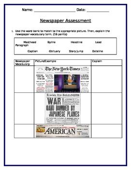 Newspaper Assessment