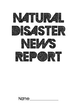 Newspaper Assessment Natural Disaster