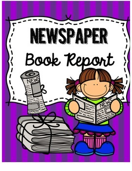 Newspaper Book Report