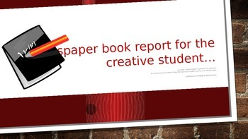 Newspaper Book Report of the Creative Student