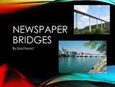 Newspaper Bridges Team building activity